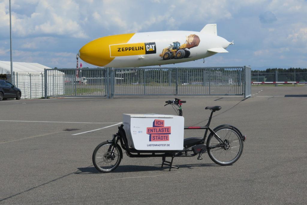 Ich entlaste Städte bringt Lastenräder in die Zeppelinstadt. Foto: cargobike.jetzt